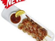Chili Lemon Prawn Skewer