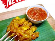 Raw Satay - Chicken
